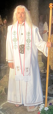 Installation of Rev. Thomas